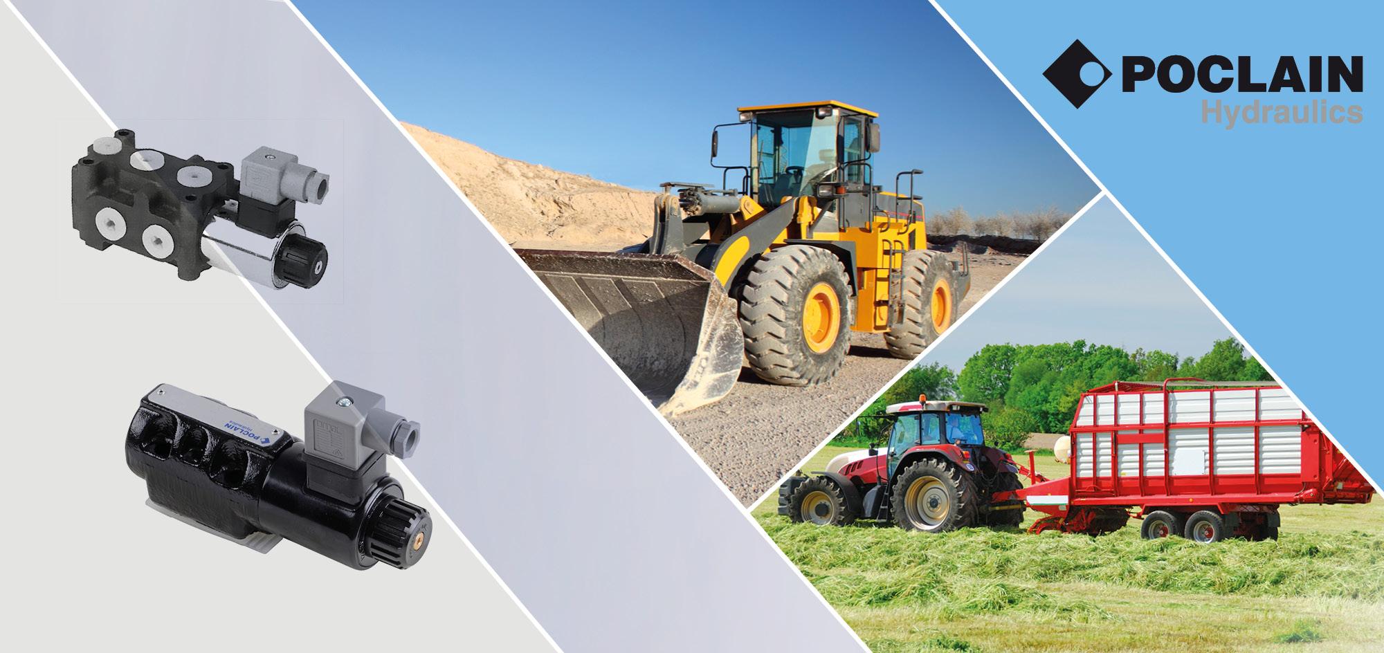 Poclain Hydraulik Radialkolbenmotoren Website Header Template